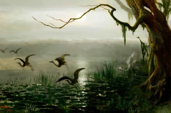 Phantom Crane By William Holbrook Beard By William Holbrook Beard