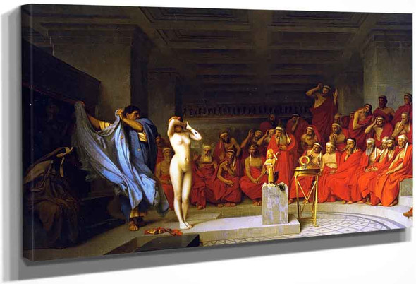 Phyrne Before The Areopagus By Jean Leon Gerome