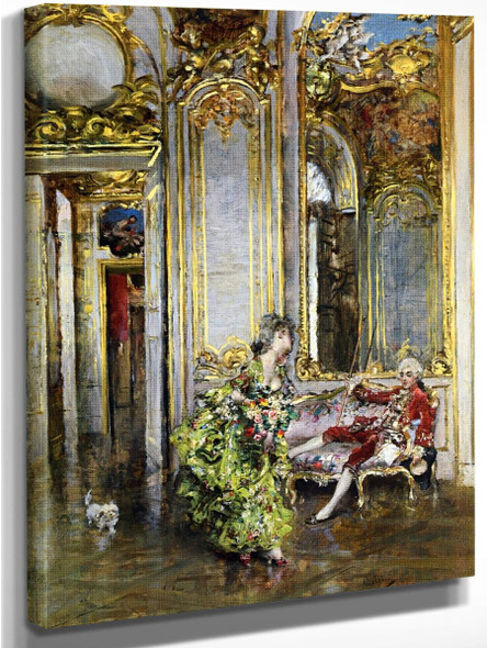 A Friend Of The Marquis By Giovanni Boldini