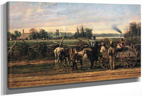 Plantation Portrait By William Aiken Walker