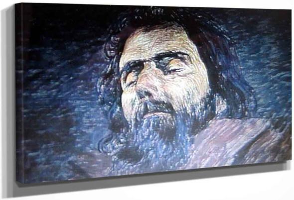 Portrait Of Dead Segantini By Giovanni Giacometti By Giovanni Giacometti