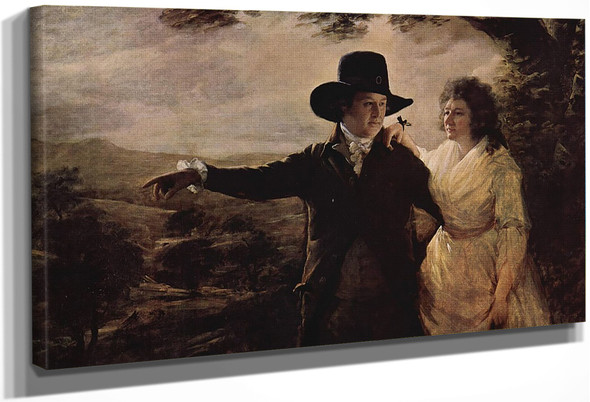 Portrait Of Sir John And Lady Clark By Sir Henry Raeburn, R.A., P.R.S.A.