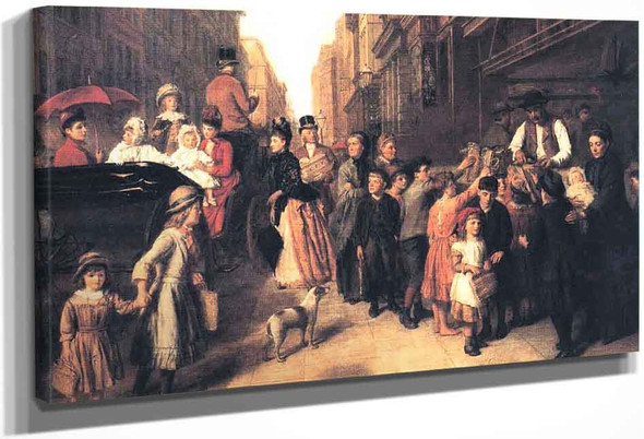 Poverty And Wealth By William Powell Frith