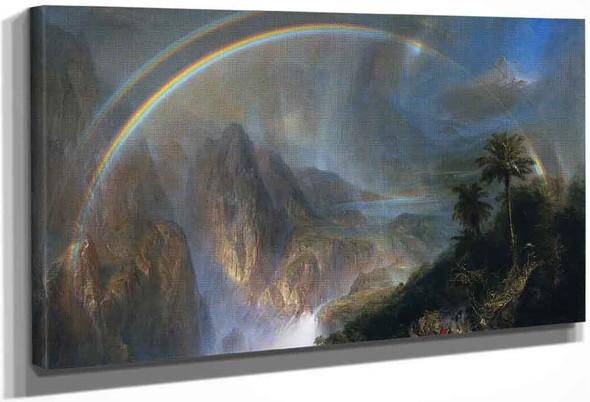Rainy Season In The Tropics By Frederic Edwin Church By Frederic Edwin Church
