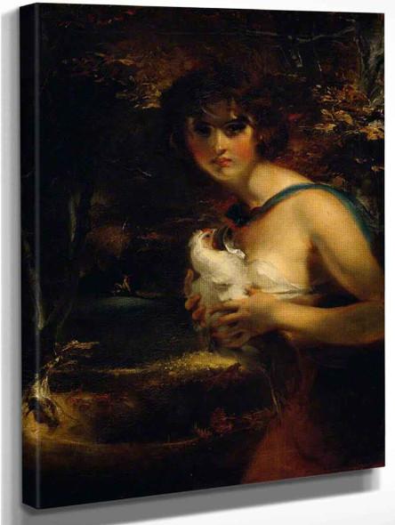 A Gypsy Girl By Sir Thomas Lawrence