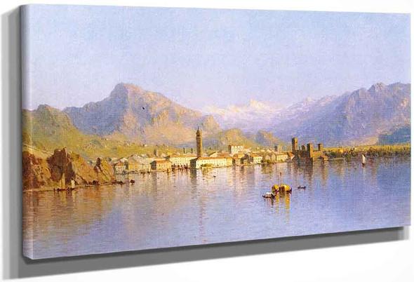 Riva Lago Di Garda By Sanford Robinson Gifford