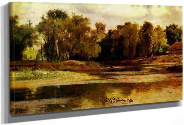 River Bank. By Ilia Efimovich Repin