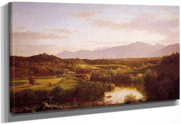River In The Catskills By Thomas Cole By Thomas Cole