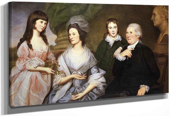 Robert Goldsborough And Family By Laurent De La Hyre