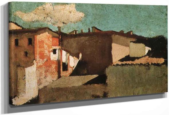 Roofs By Giuseppe Abbati By Giuseppe Abbati