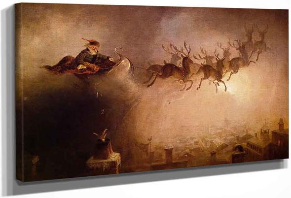 Santa Claus By William Holbrook Beard By William Holbrook Beard