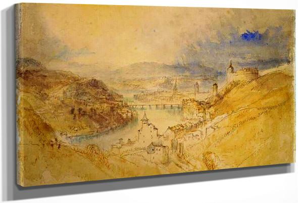 Schaffhausen By Joseph Mallord William Turner