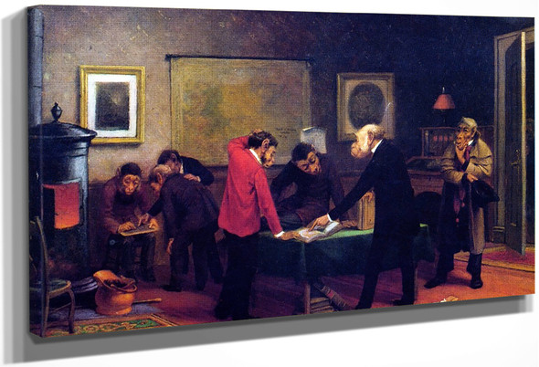 Scientists At Work By William Holbrook Beard By William Holbrook Beard