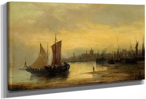 Sea Piece By Samuel Bough