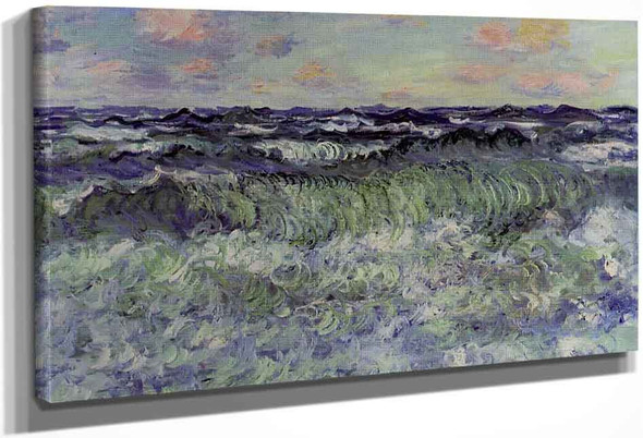 Sea Study By Claude Oscar Monet