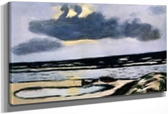 Seashore By Max Beckmann By Max Beckmann