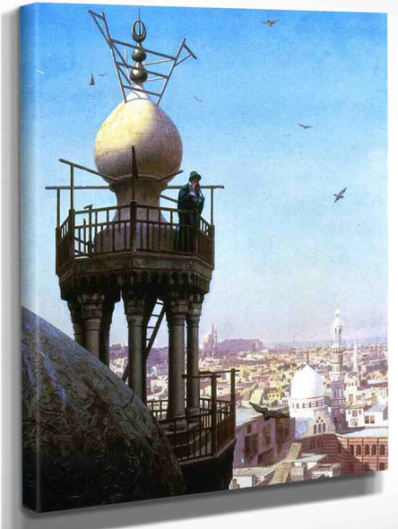 A Muezzin Calling The Faithful To Prayer By Jean Leon Gerome