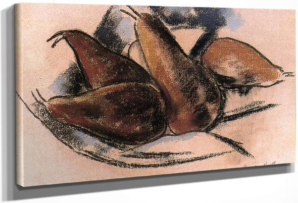 Sickle Pears By Marsden Hartley