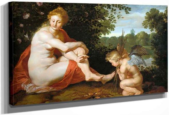 Sine Cerere Et Baccho Friget Venus By Peter Paul Rubens