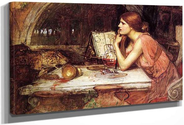 Sketch Of Circe By John William Waterhouse