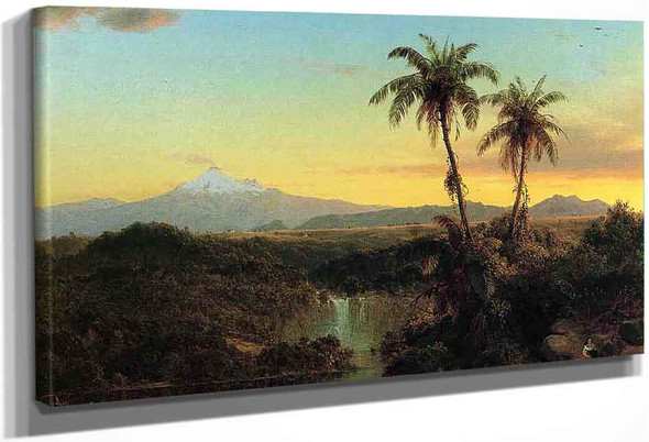 South American Landscape2 By Frederic Edwin Church By Frederic Edwin Church