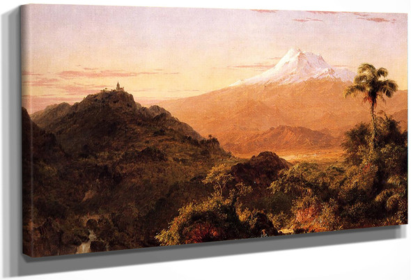 South American Landscape4 By Frederic Edwin Church By Frederic Edwin Church