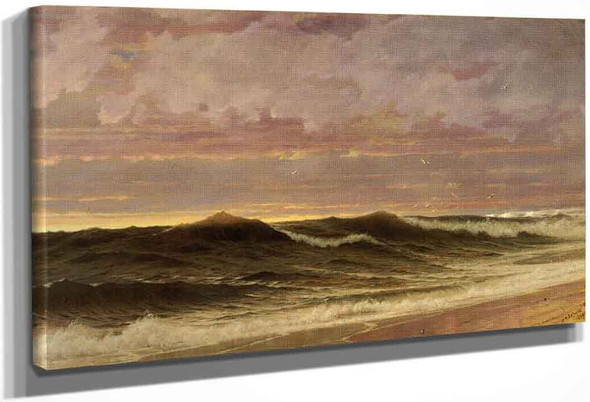 South Nantucket By William Trost Richards By William Trost Richards