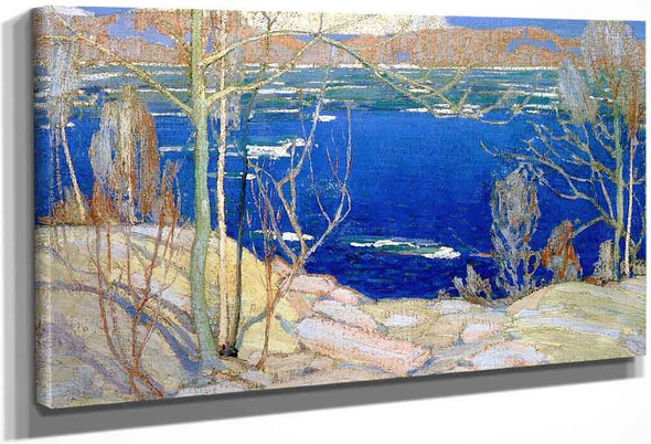 Spring Ice By Tom Thomson