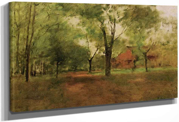 Springtime, Montclair By George Inness By George Inness