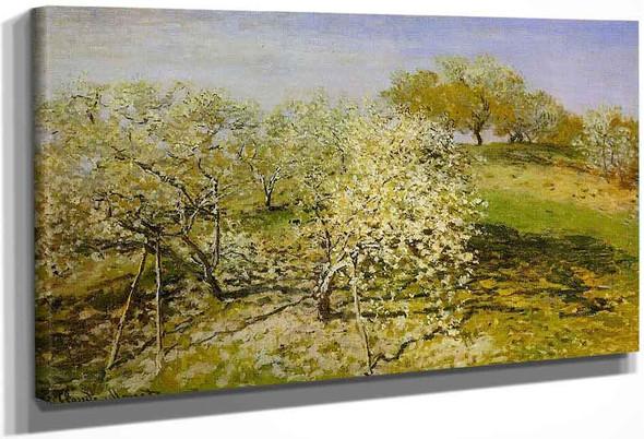 Springtime By Claude Oscar Monet
