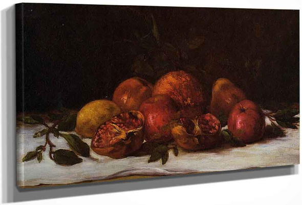 Still Life By Gustave Courbet
