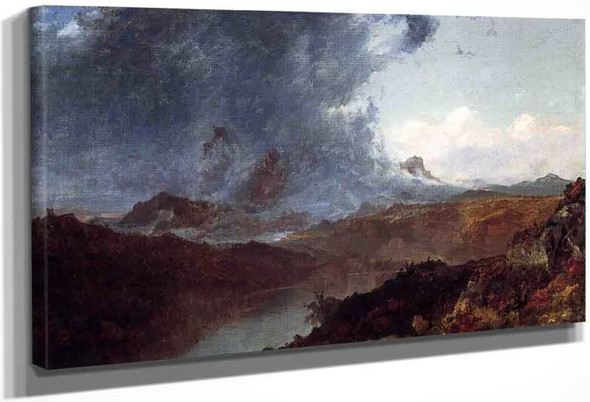 Storm Western Colorado By John Frederick Kensett By John Frederick Kensett
