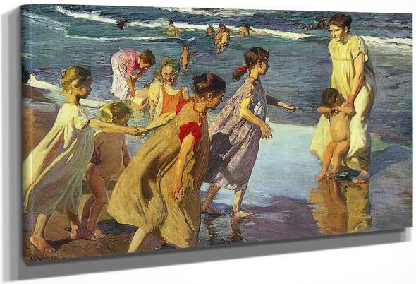 Summer By Joaquin Sorolla Y Bastida