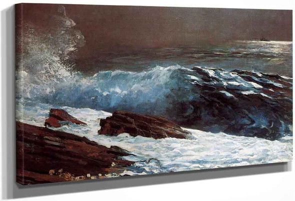 Sunlight On The Coast By Winslow Homer