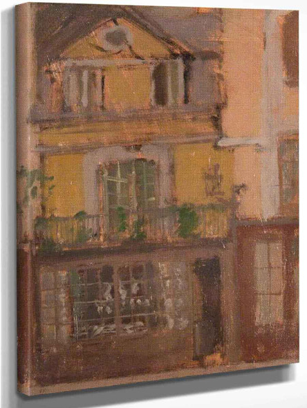 A Shop In Dieppe By Walter Richard Sickert By Walter Richard Sickert