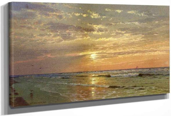 Sunrise, Atlantic City By William Trost Richards By William Trost Richards
