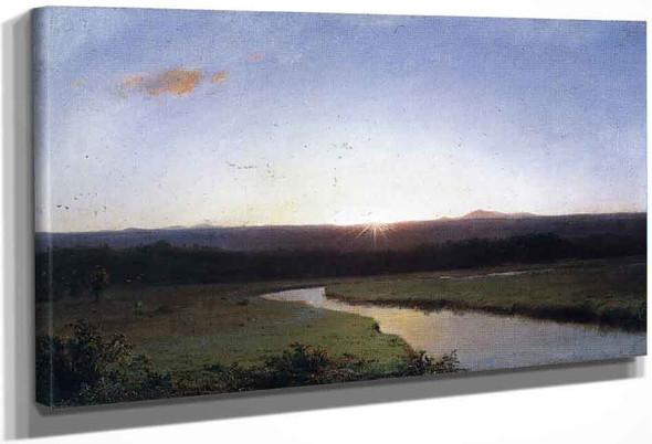 Sunrise By Frederic Edwin Church By Frederic Edwin Church