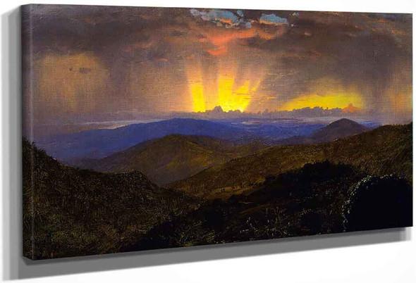 Sunset, Jamaica By Frederic Edwin Church