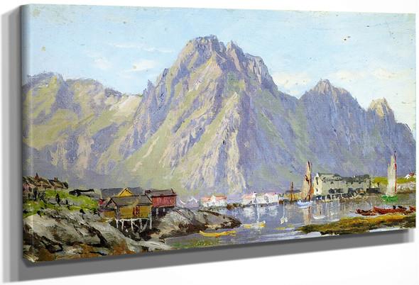 Svolvaer By William Trost Richards By William Trost Richards