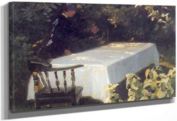 Table In The Garden By Peder Severin Kroyer