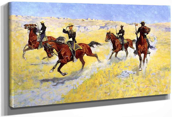 The Advance By Frederic Remington