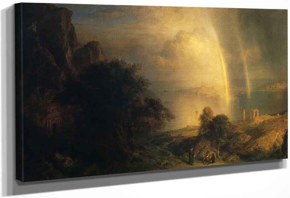 The Aegean Sea By Frederic Edwin Church By Frederic Edwin Church