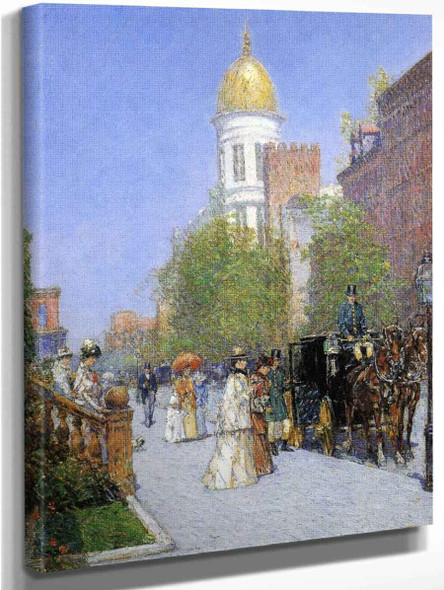 A Spring Morning By Frederick Childe Hassam