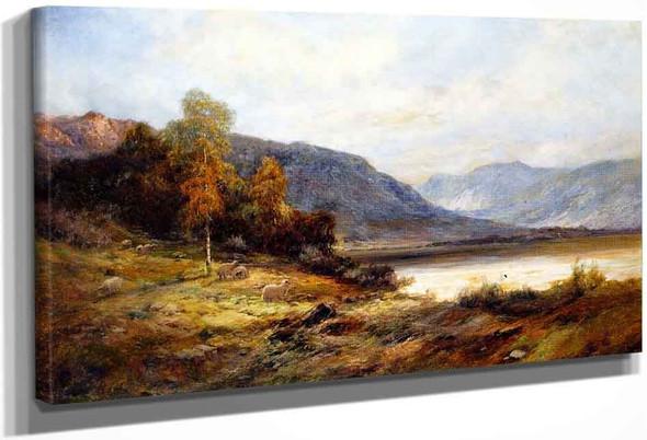 The Banks Of Loch Kagrine By Alfred De Breanski, Sr.