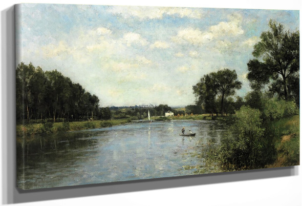 The Banks Of The Marne By Stanislas Lepine
