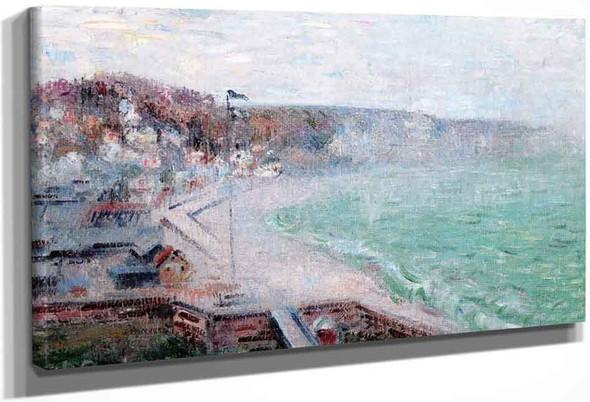 The Beach At Fecamp By Gustave Loiseau By Gustave Loiseau