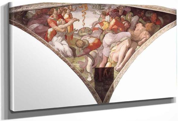 The Brazen Serpent By Michelangelo Buonarroti By Michelangelo Buonarroti
