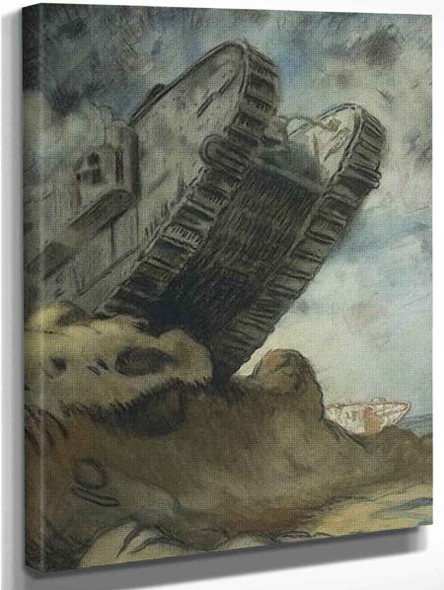A Tank By Sir William Orpen By Sir William Orpen