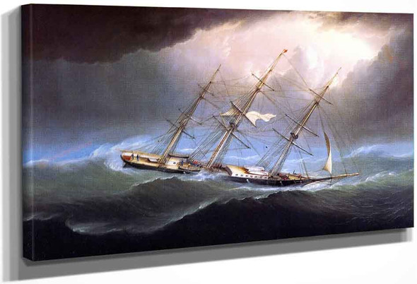 The Clipper Flying Cloud Off Cape Horn By James E. Buttersworth
