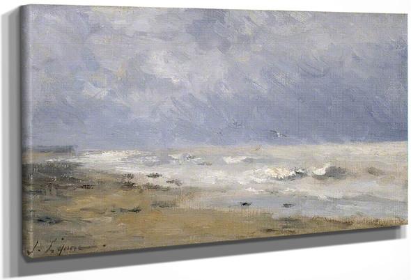 The Coast Of Normandy By Stanislas Lepine